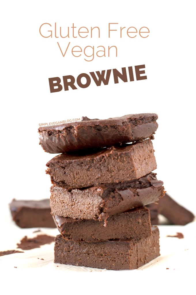 Gluten Free Vegan Brownie | Simple Vegan Blog