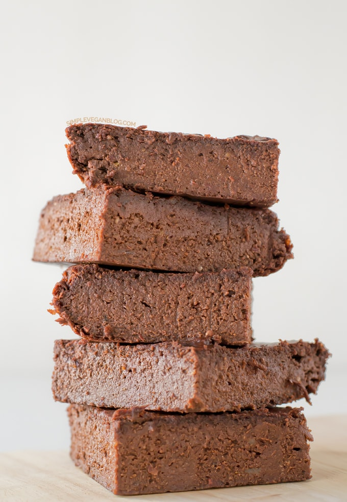 Red Bean Gluten free vegan brownie | #vegan
