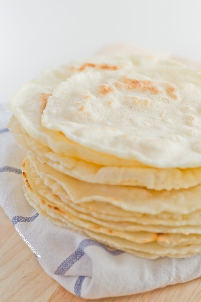 Tortillas Gluten Free Simple Vegan Blog