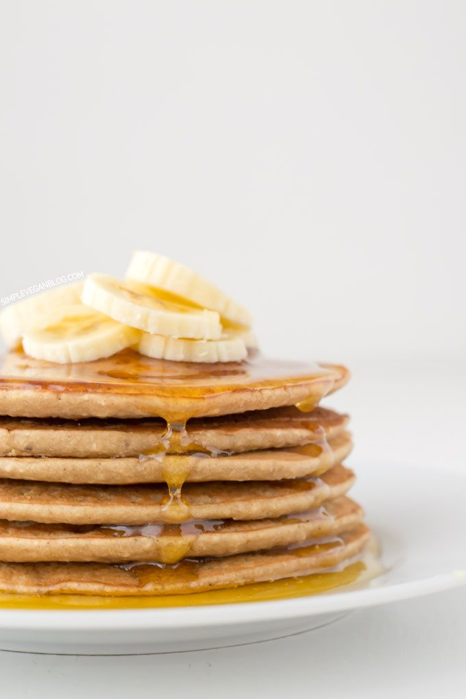 Vegan Gluten Free Pancakes | Simple Vegan Blog