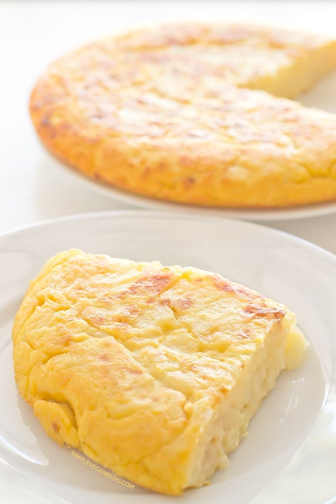 Vegan Spanish Omelette Recipe