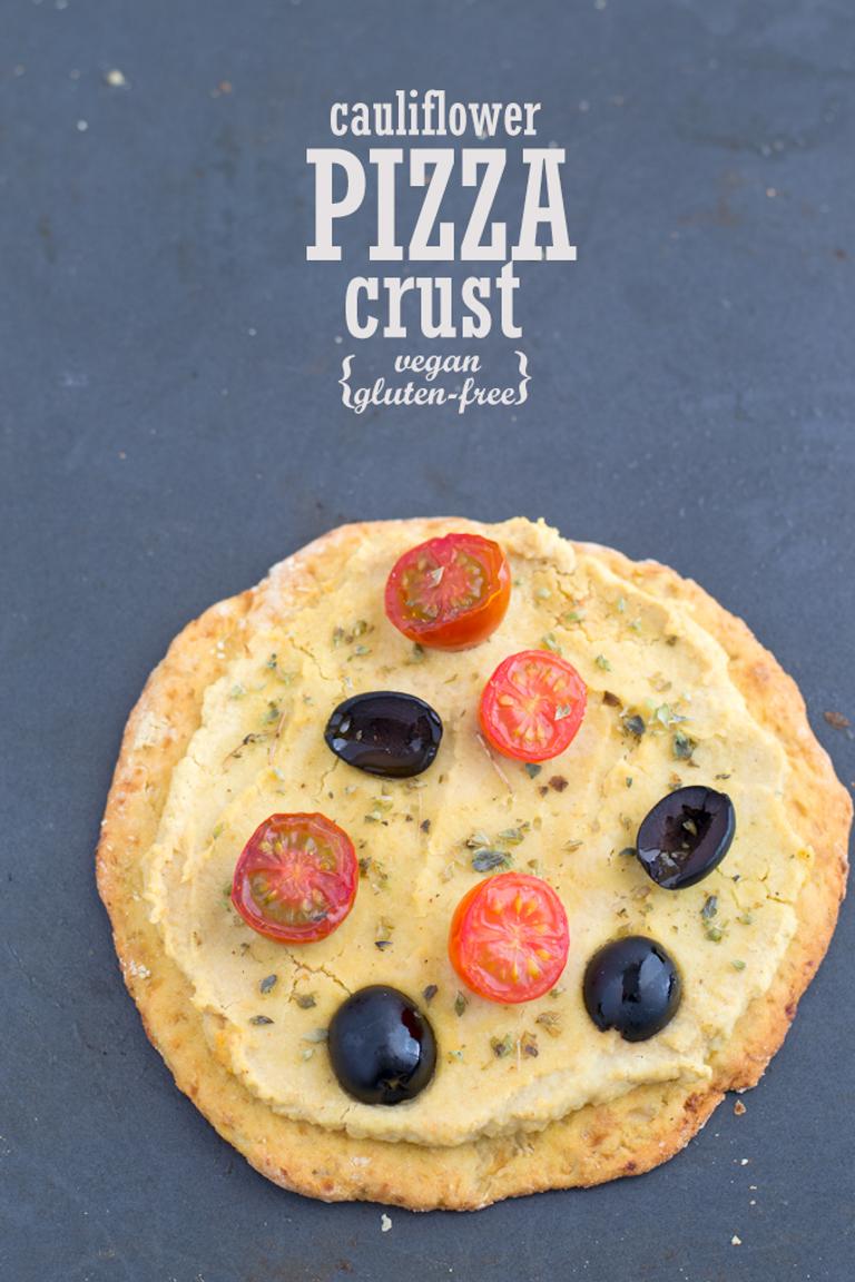 Cauliflower PIZZA crust   #vegan and gluten free