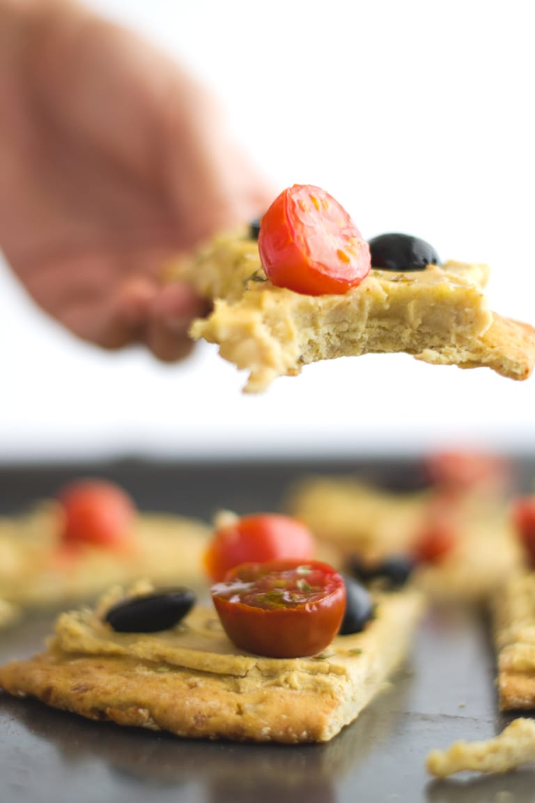 Cauliflower Pizza Crust (V + GF) - Simple Vegan Blog