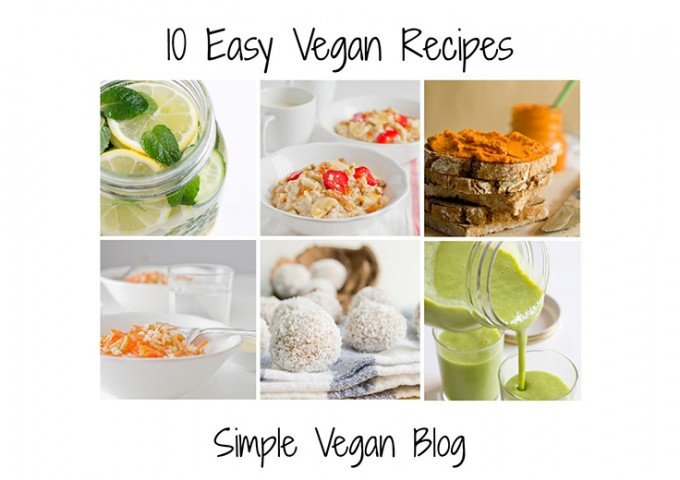 Free E-Cookbook - 10 Easy Vegan Recipes
