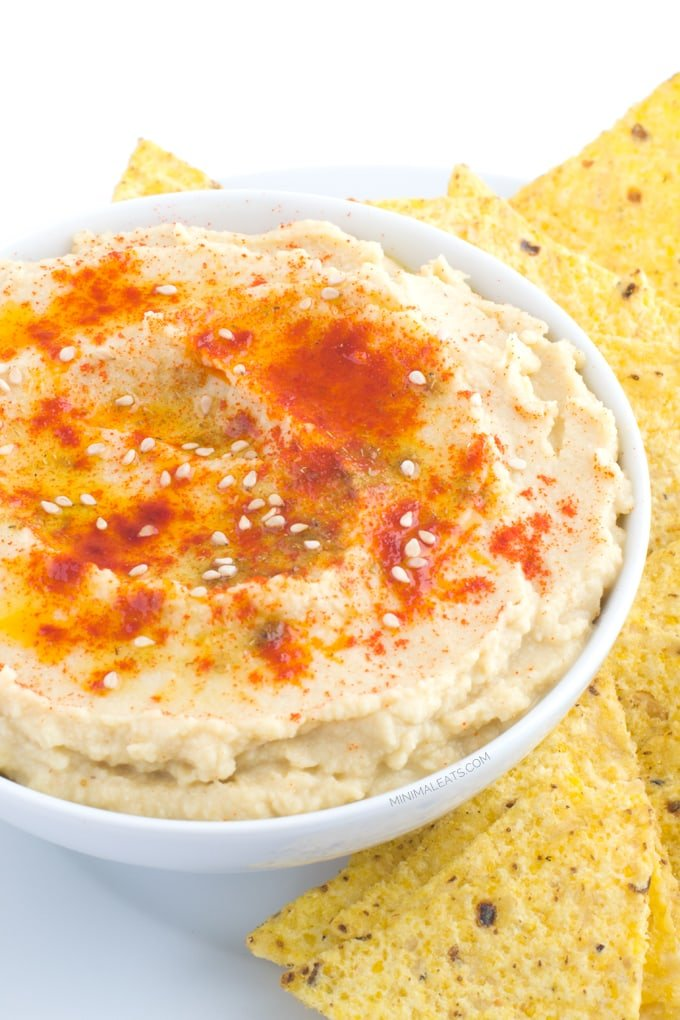 How to make Hummus in ONLY 10 minutes