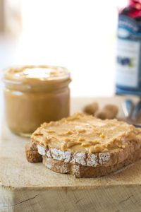 2 minute homemade peanut butter
