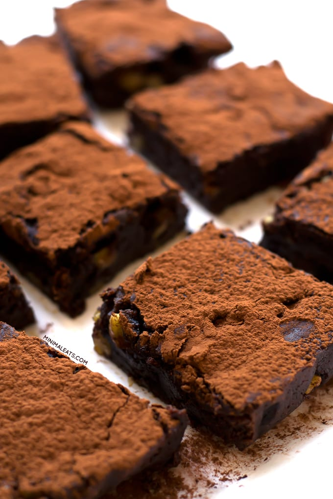 Ultimate Vegan Glutenfree Brownie | simpleveganblog.com