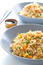 Vegan Fried Rice #vegan #rice #simpleveganblog