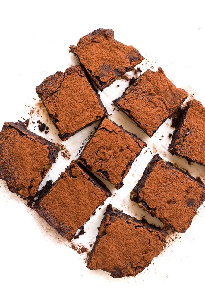 Vegan Glutenfree Brownie | simpleveganblog.com