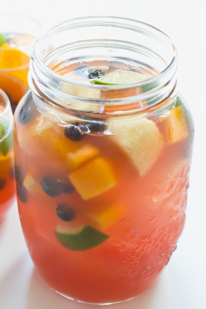 Non Alcoholic Sangria | Simple Vegan Blog