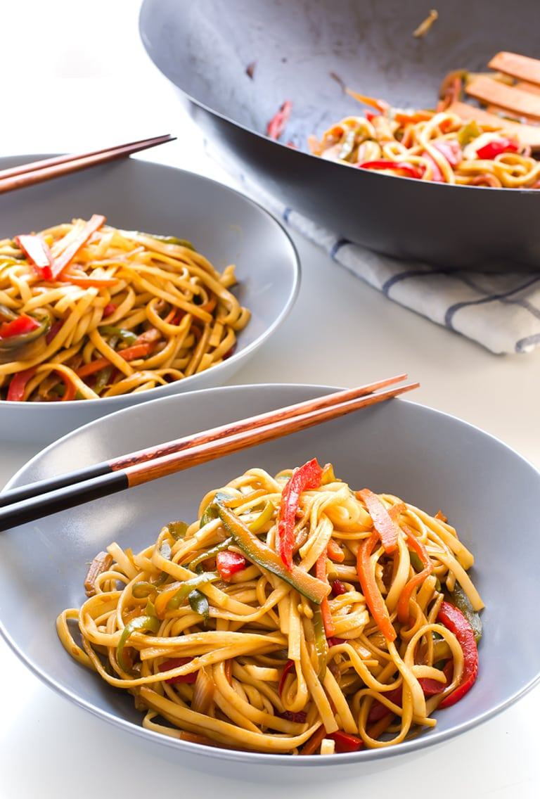 Vegan Stir Fried Udon Noodles Simple Vegan Blog