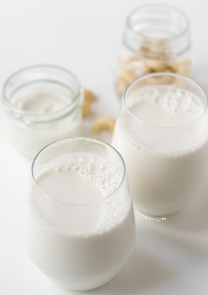 Cashew Milk | minimaleats.com #minimaleats #vegan #recipe #glutenfree