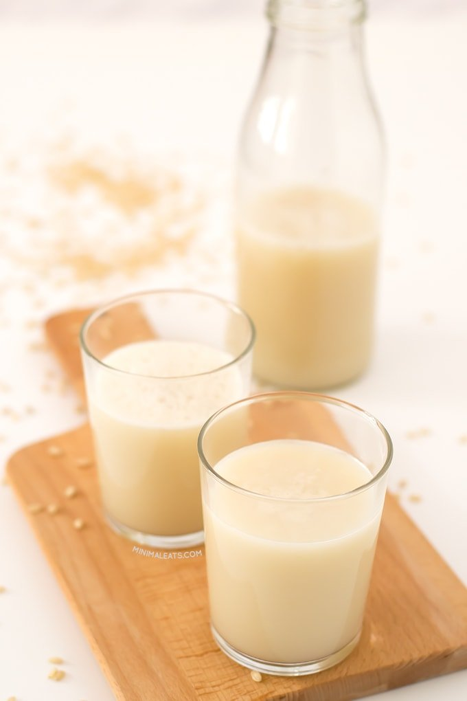 Rice Milk | minimaleats.com #minimaleats #vegan #recipe #glutenfree