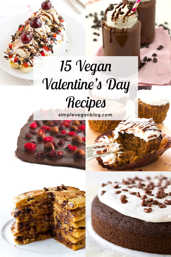 15 vegan valentine's day recipes | simple vegan blog, Ideas