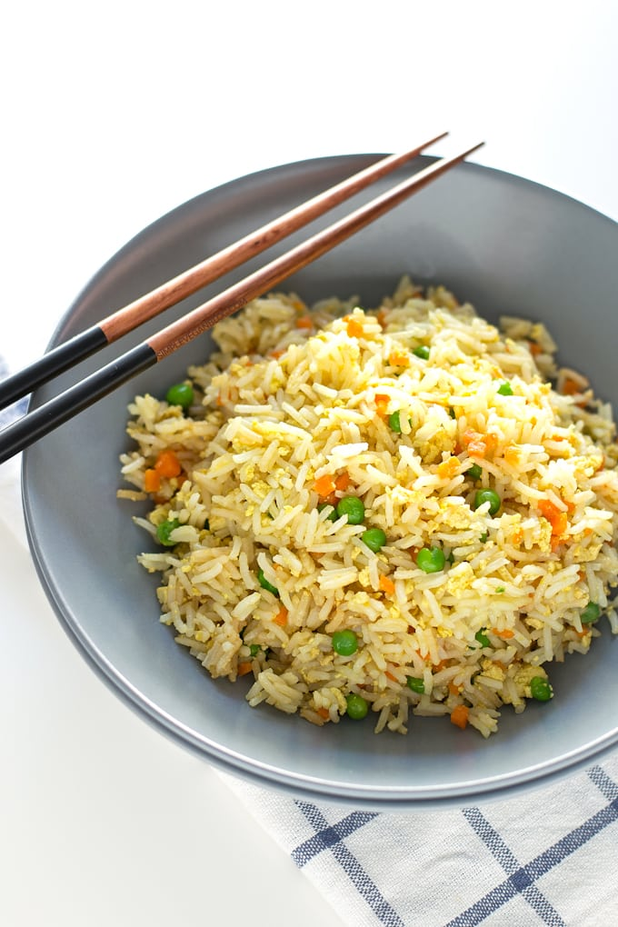 Simple Vegan Fried Rice