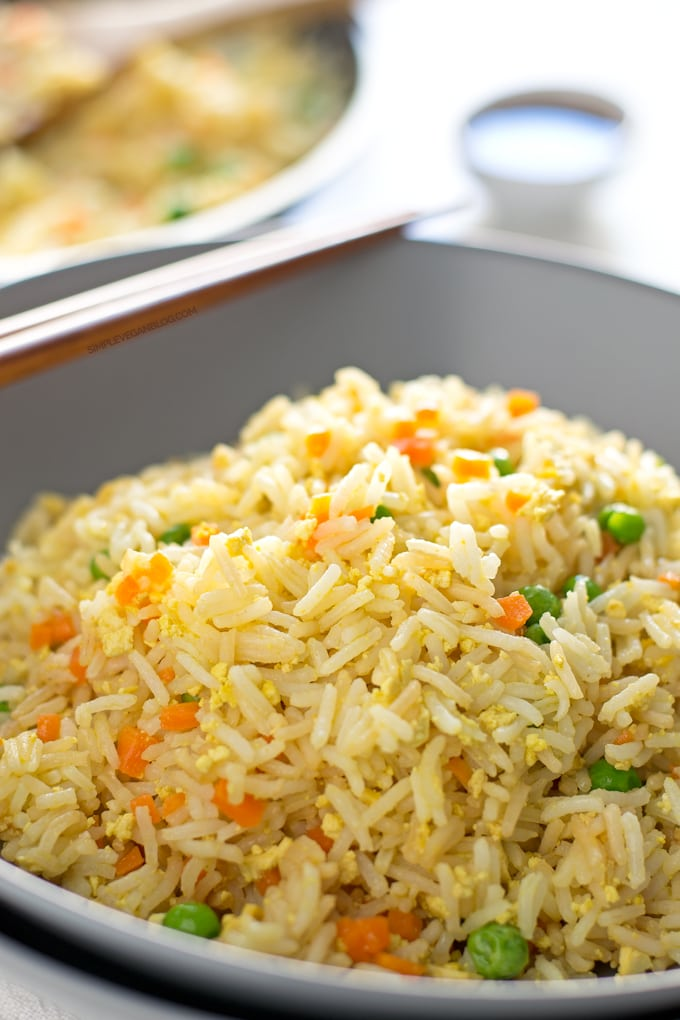 Vegetarian Fried Rice – This is how to use up leftovers ...