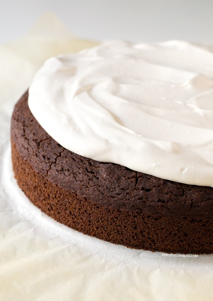 Vegan Gluten Free Chocolate Cake