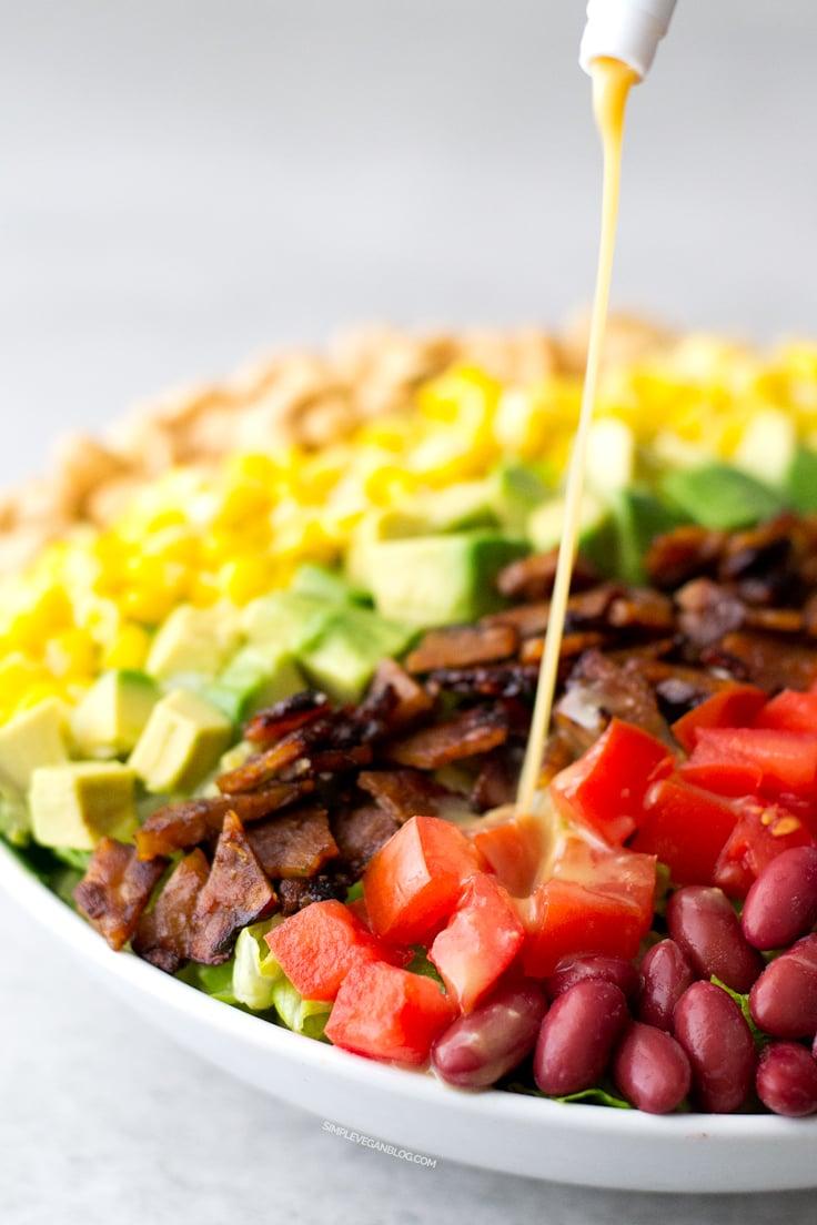 Vegan Cobb Salad Simple Vegan Blog