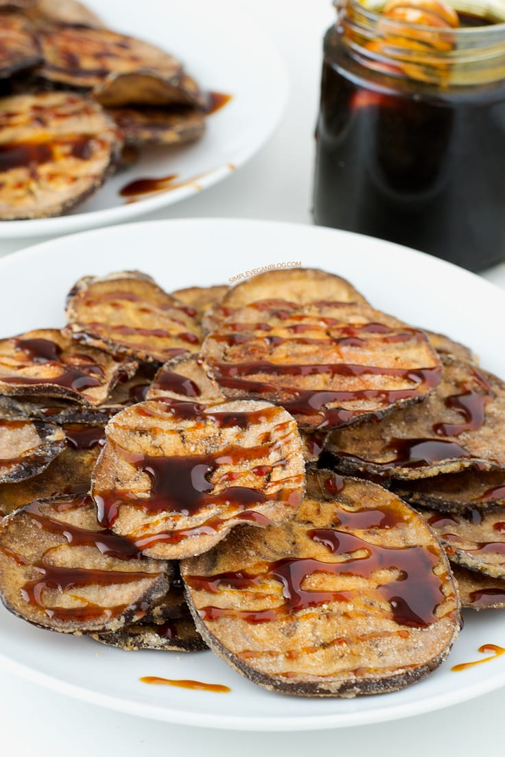 Eggplant with Molasses