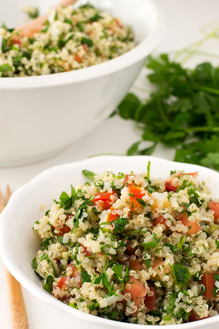 Quinoa Tabbouleh | Simple Vegan Blog