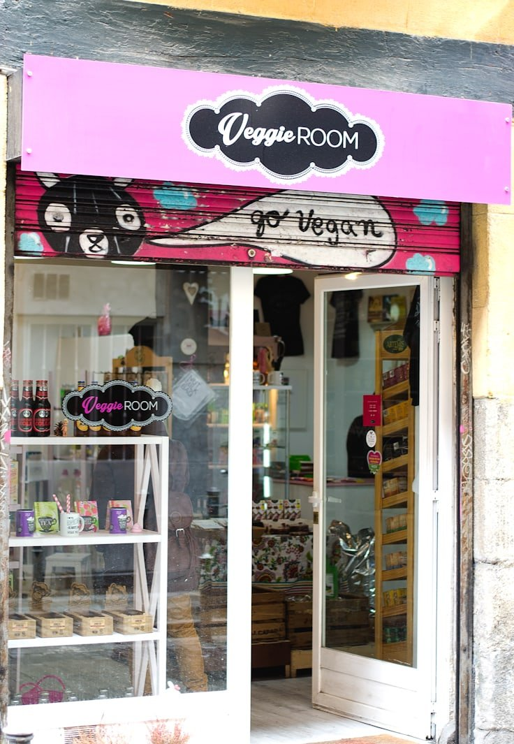 Veggie Room: Vegan Store in Madrid (Spain)