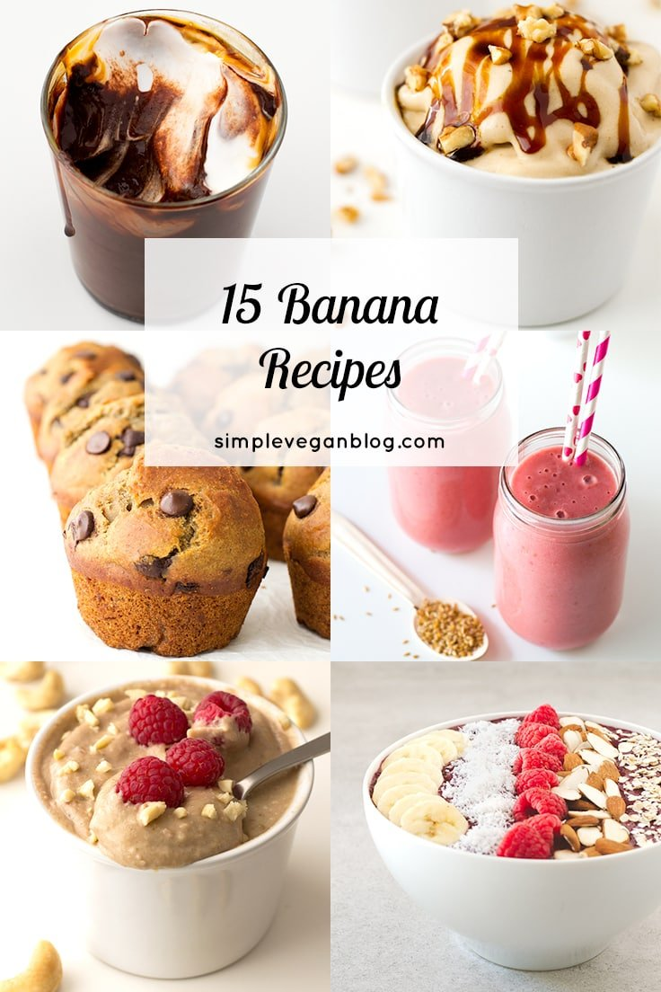 15 Banana Recipes