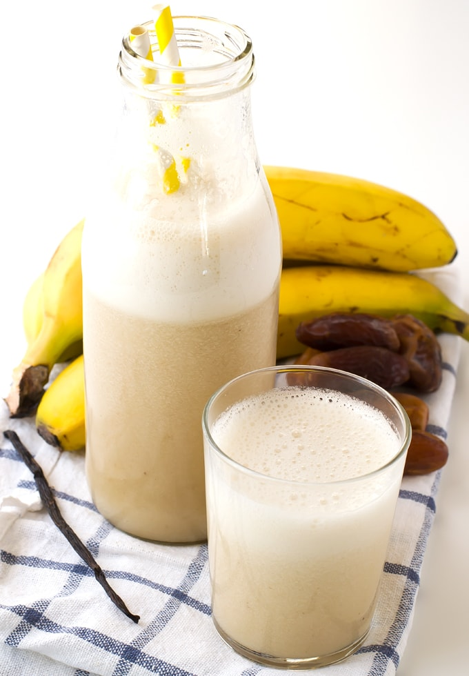 Easy peasy banana milk