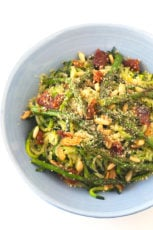Zucchini Noodles with Vegetables