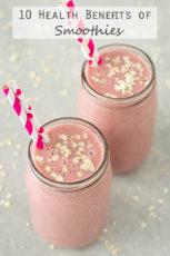 10 Health benefits of smoothies | simpleveganblog.com #vegan #health