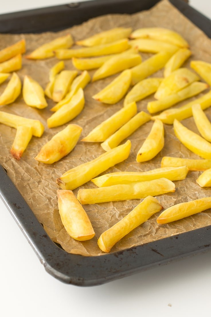 Fat free french fries | simpleveganblog.com #vegan #glutenfree #healthy
