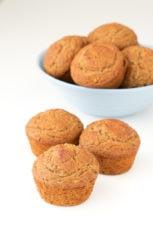 Gluten free vegan zucchini muffins | simpleveganblog.com #vegan #glutenfree #healthy