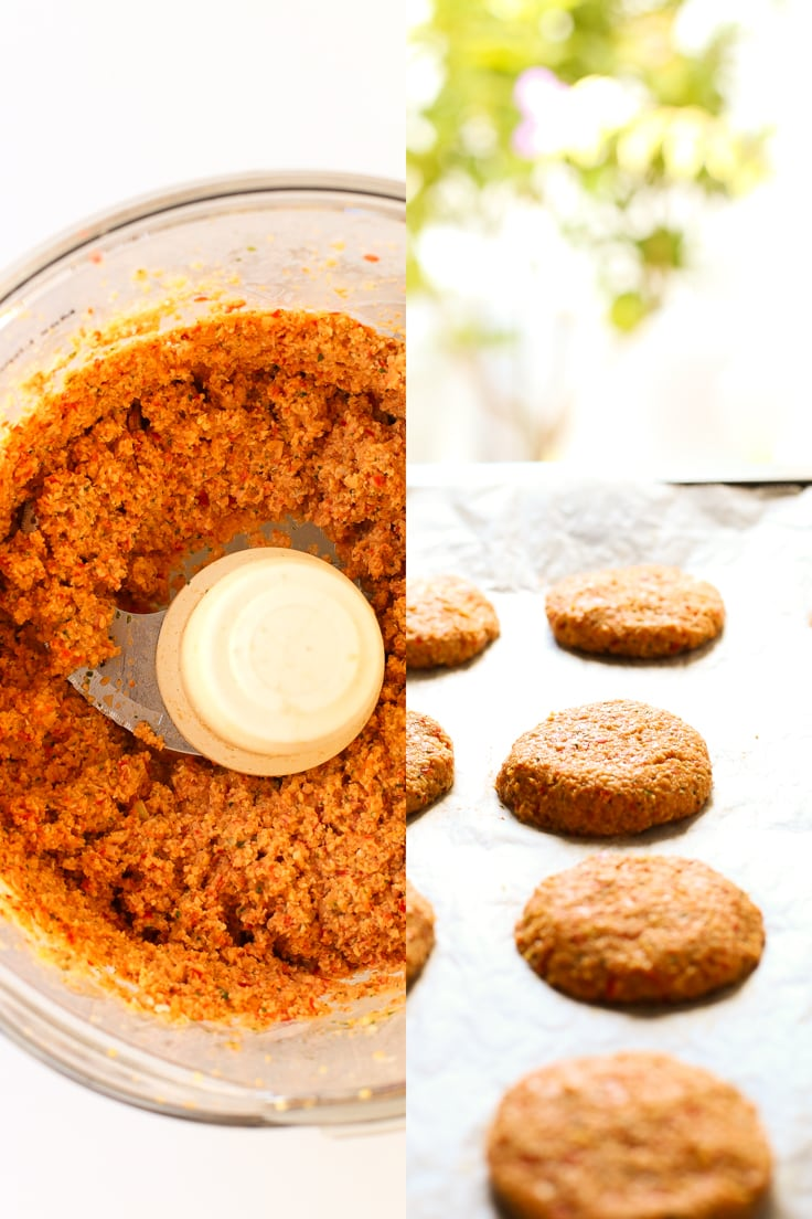 How to make gluten-free baked falafel | simpleveganblog.com #vegan #glutenfree #healthy