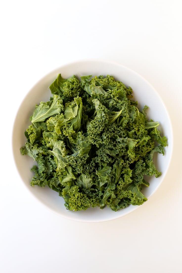 Oil Free Rainbow Kale Salad - Simple Vegan Blog