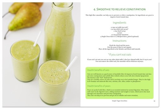 Simple Vegan Smoothies eCookBook: Recipe example | simpleveganblog.com #vegan #recipe #healthy