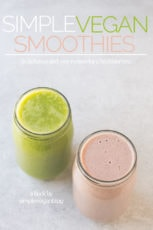 Simple Vegan Smoothies ecookbook cover