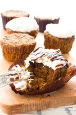 Vegan carrot cake cupcakes | minimaleats.com #minimaleats #vegan