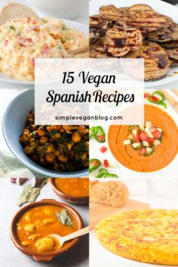 15 Vegan Spanish Recipes