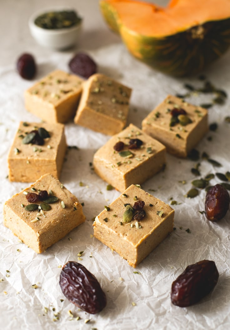 6-ingredient vegan pumpkin fudge | simpleveganblog.com #vegan #glutenfree