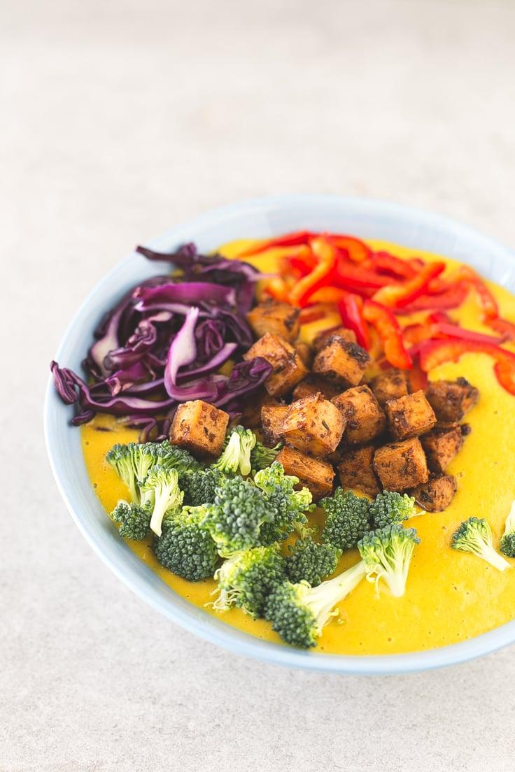 Curry soup recipe   simpleveganblog.com #vegan #healthy