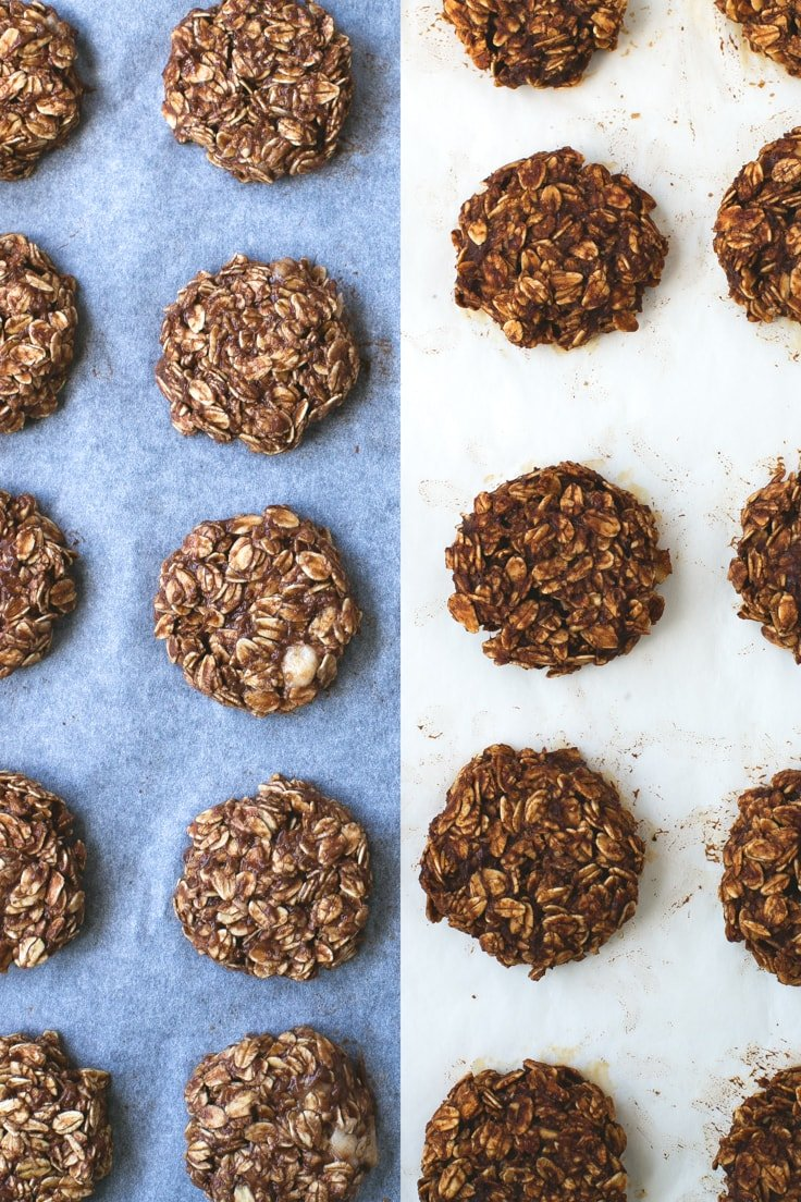 Easy chocolate cookies (vegan + glutenfree) | simpleveganblog.com #vegan #glutenfree #healthy