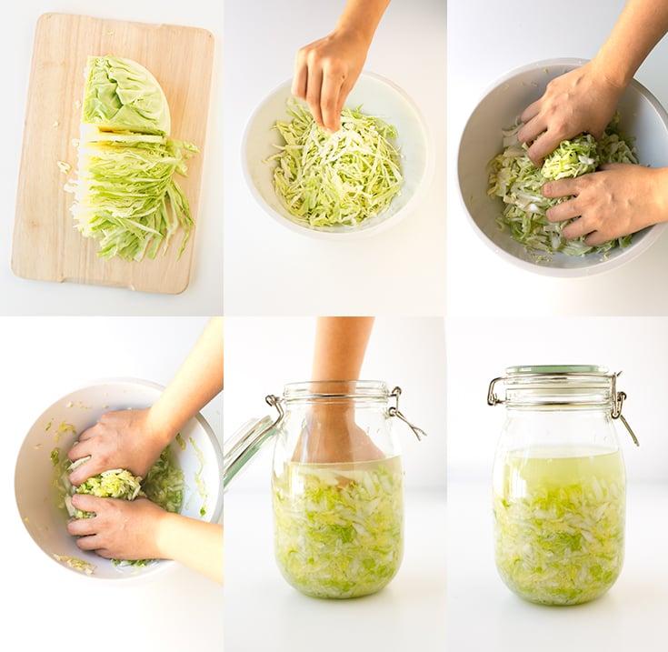 How to make sauerkraut step by step | simpleveganblog.com #vegan #glutenfree