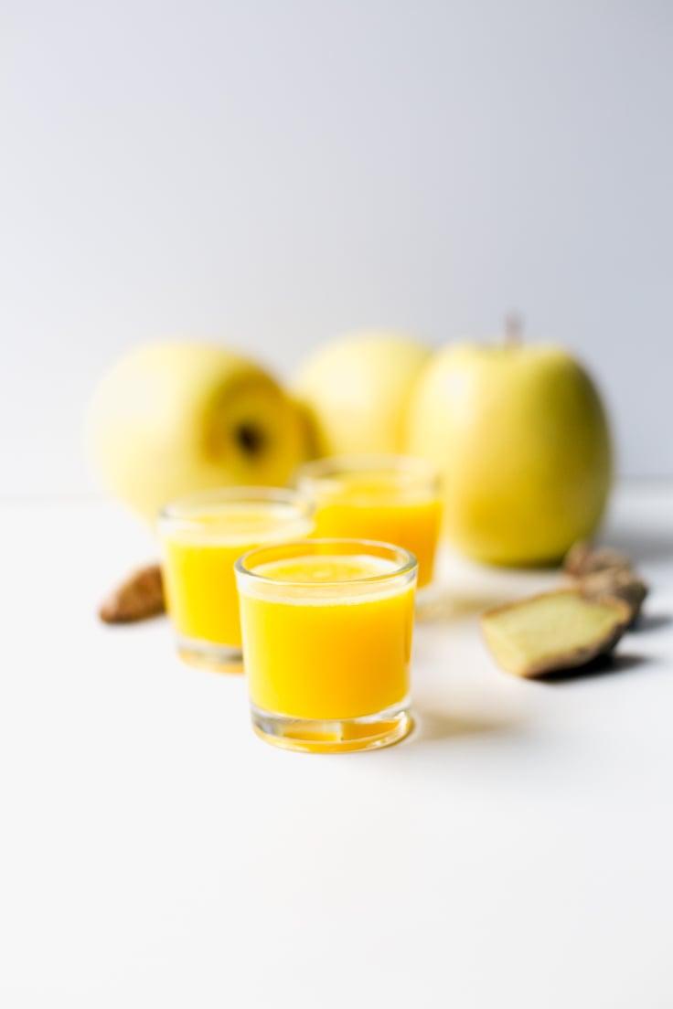 Immune boosting ginger drink | simpleveganblog.com #vegan #glutenfree