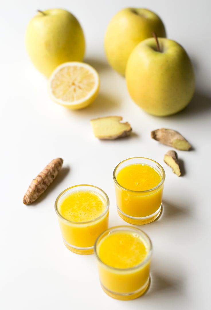 Immune boosting shots | simpleveganblog.com #vegan #glutenfree