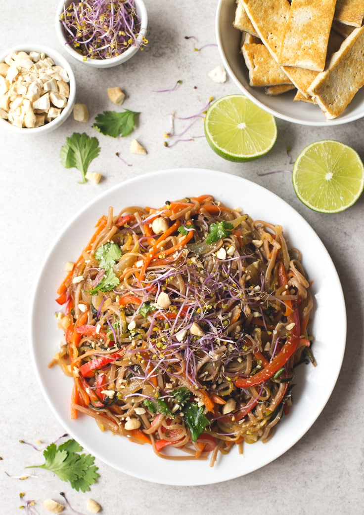 Vegan Pad Thai Simple Vegan Blog
