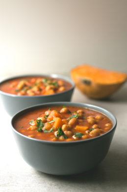 Spanish Pumpkin and Chickpea Stew