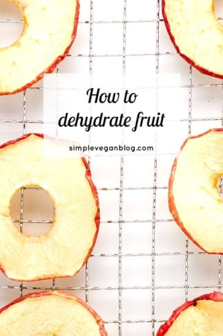 How to dehydrate fruit - How to dehydrate fruit. Dehydrated fruit is a super nutritious and healthy snack, perfect to eat on the go or when you're travelling.