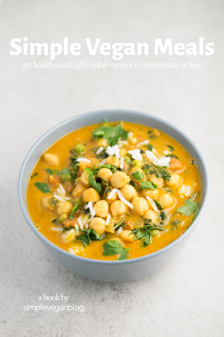 Simple Vegan Meals ebook cover