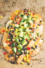 Potato wedge nachos - Potato wedge nachos are a great alternative to tortilla chips. They're so cheap, healthy and super easy to make! Feel free to add your favorite toppings.