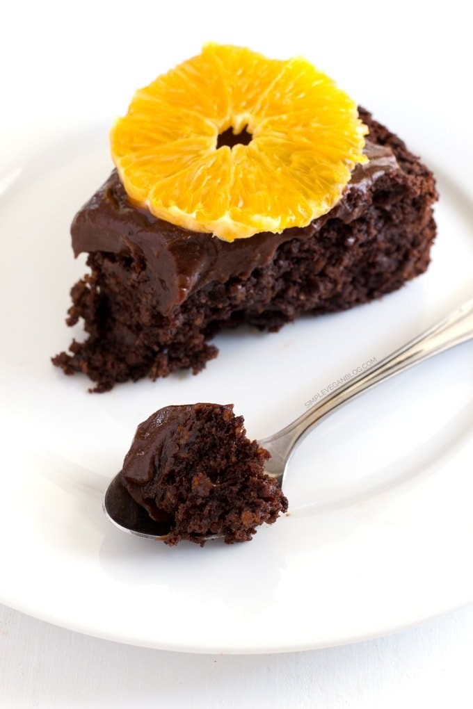 Chocolate Orange Cake (V + GF)