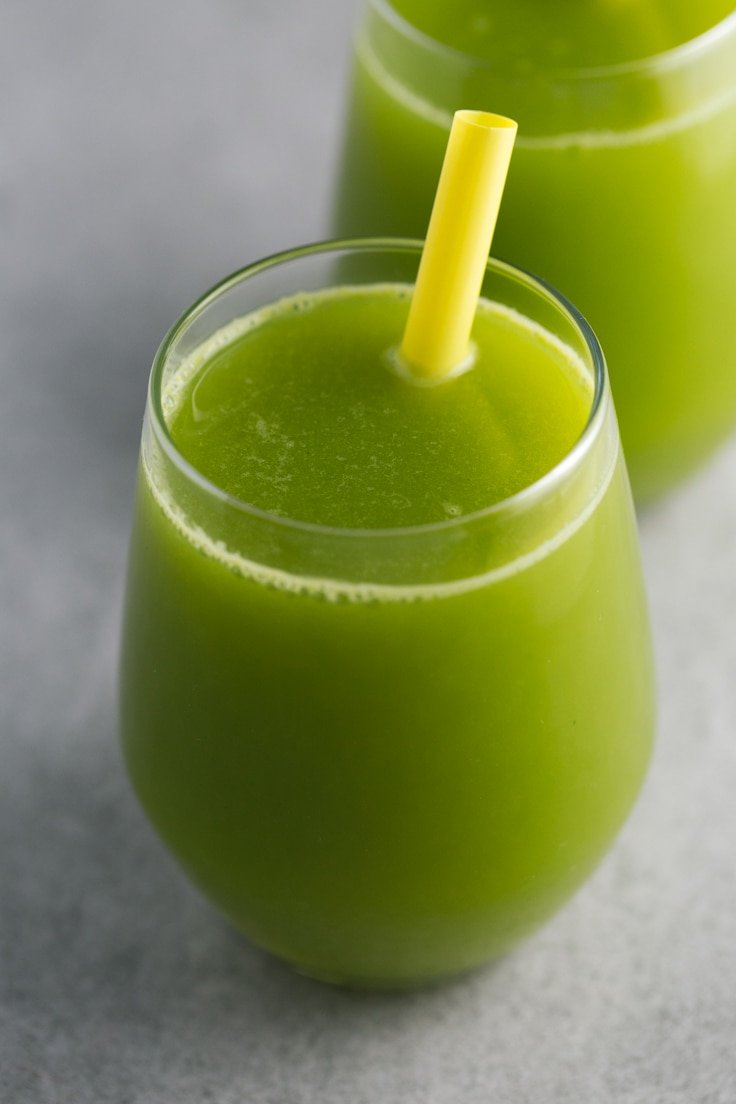 Green juice for weight loss - The ingredients we used to make this ...